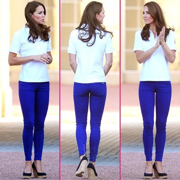 c2183e6fa92 J Brand Denim - J Brand 811 Mid-rise Jeans Royal Kate Middleton